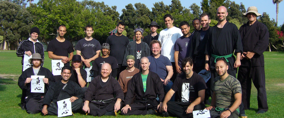 Bujinkan Santa Monica Group Photo